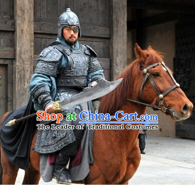 Custom Made Ancient Chinese Style TV Drama Film Armor Costumes Complete Set