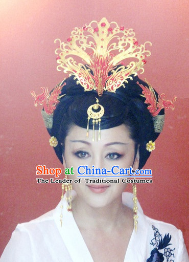 Chinese Traditional Style Princess Phoenix Headpieces Hairpieces for Women