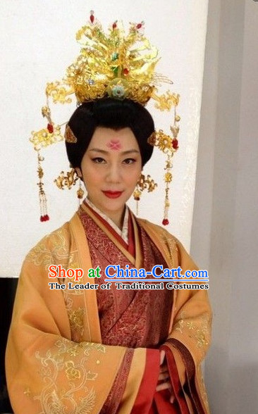 Ancient Chinese Traditional Style Queen Hair Jewelry Set