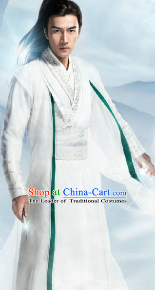 Ancient Chinese Knight Clothes Complete Set for Men