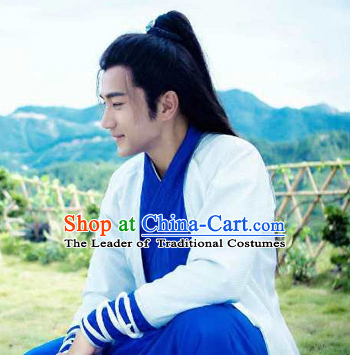 Ancient Chinese Men Clothing Complete Set