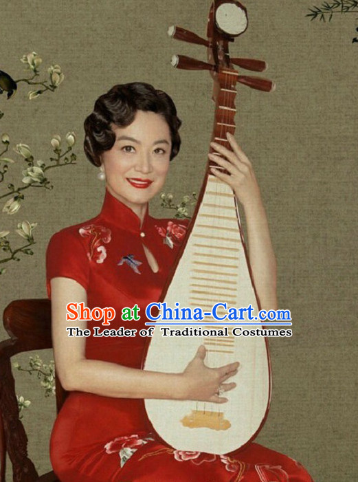 Traditional Chinese Qipao Dress for Women