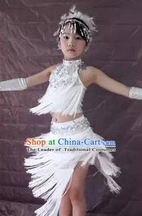 Chinese Dance Dress Complete Set for Girls