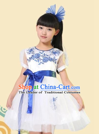 Chinese Dance Dress for Children Girls