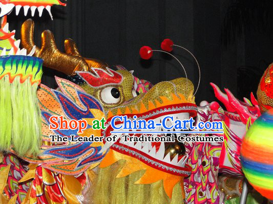 Traditional Chinese Dragon Head