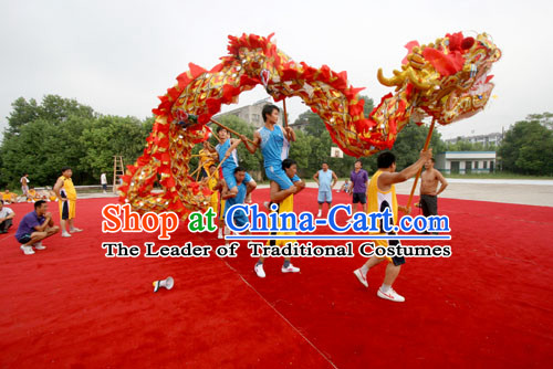 Best Ancient Chinese Dragon Dance Costume Complete Set
