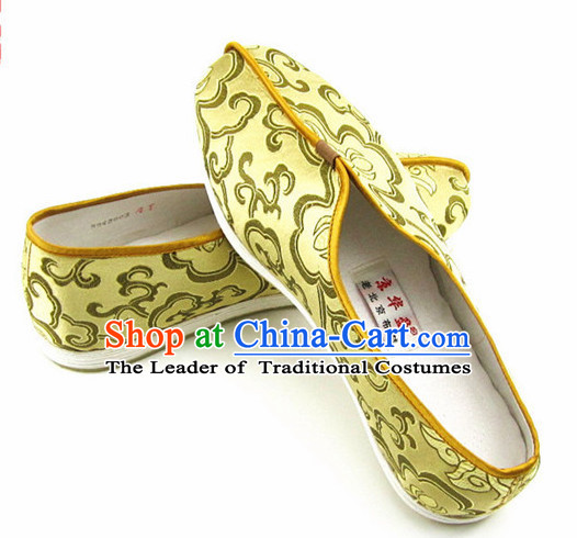 Top Chinese Traditional Tai Chi Shoes Kung Fu Shoes Martial Arts Shoes for Men or Women