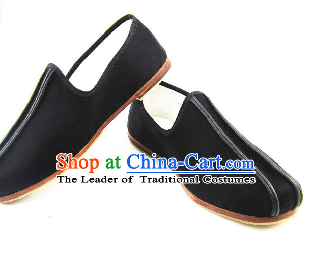 Top Chinese Classic Traditional Tai Chi Shoes Kung Fu Shoes Martial Arts Boots for Men or Women
