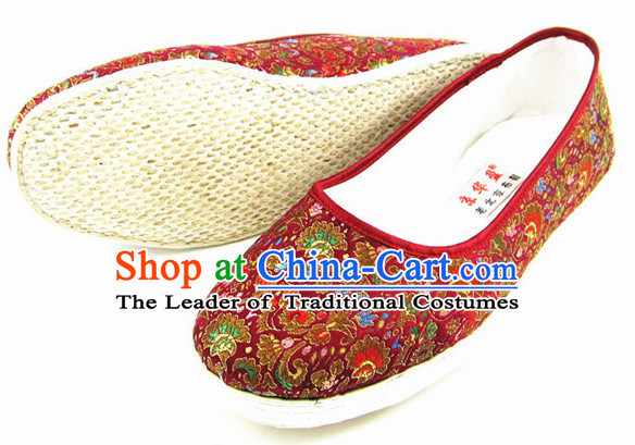 Top Chinese Classic Traditional Tai Chi Shoes Kung Fu Shoes Martial Arts Shoes for Women