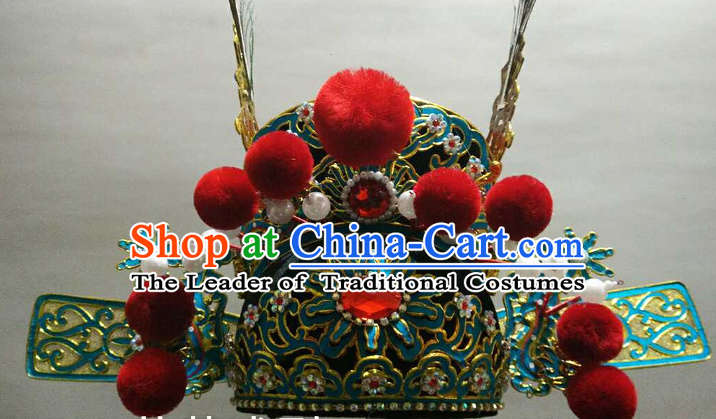 Chinese Traditional Opera Bridegroom Hat