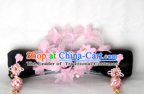 Chinese Qing Dynasty Classical Manchu Hair Jewelry Headwear Headdress Headpieces