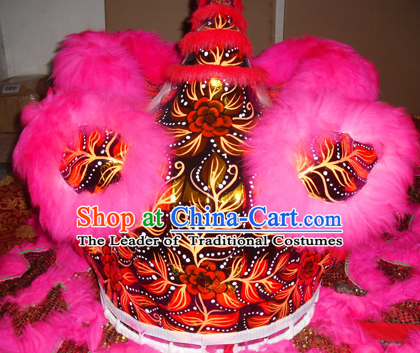 Top Peachblow Competition and Parade Lion Dancing Equipment Complete Set