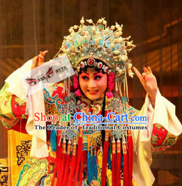 Top Chinese Traditional Phoenix Coronet Opera Hat