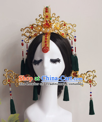 Top Chinese Traditional Wedding Headpieces Hair Jewelry