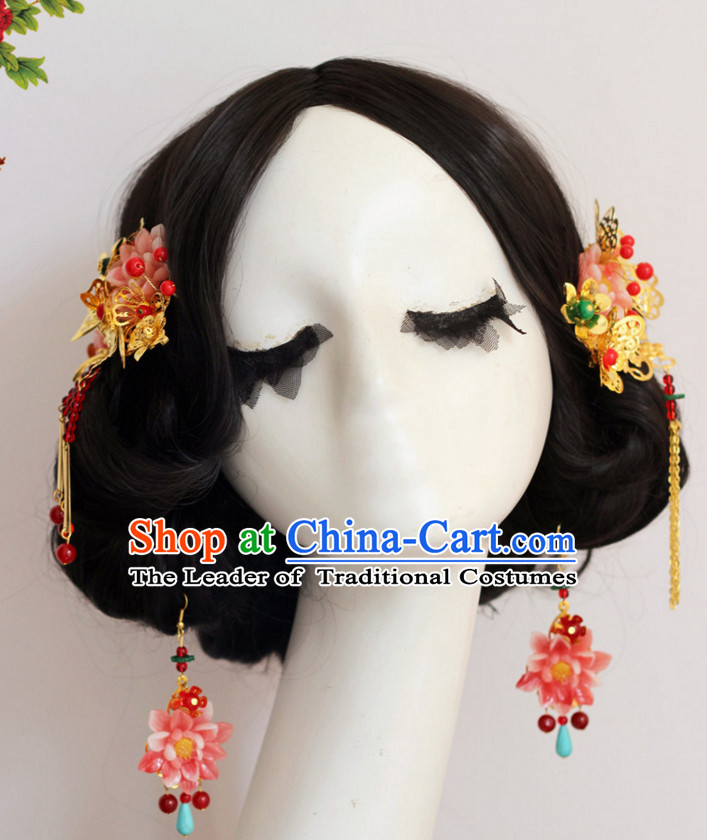 Top Chinese Traditional Wedding Headpieces Hair Jewelry Hair Clasp Hairpins