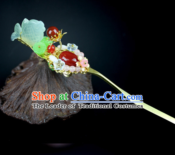 Chinese Traditional Classical Hairpins Hair Accessories Hair Clasps Headwear Headpieces Hair Jewelry