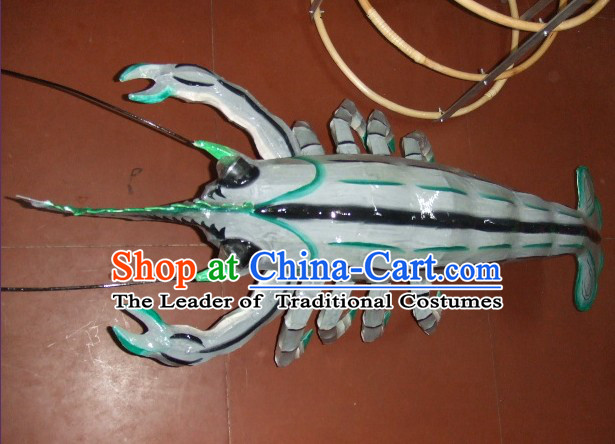 Traditional Chinese Shrimp Prawn Dance Props