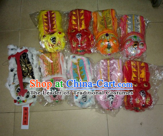 Traditional Chinese Lion Dance Toys Display Show Gifts