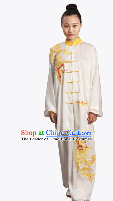 Top Chinese Traditional  Tai Chi Kung Fu Competition Championship Clothing Suits Uniforms