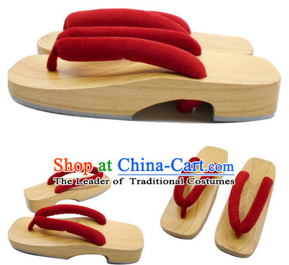 High Heel Janpanese Asian Ancient Traditional Style Slippers Geta