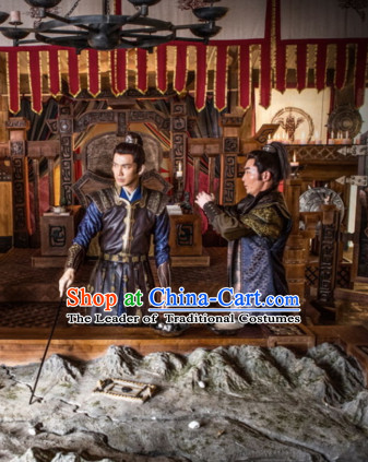 Traditional Chinese Han Dynasty Dress Chinese Knight Clothing Cloth China Attire Oriental Dresses Complete Set for Men