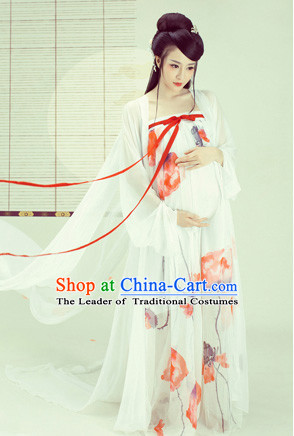 Traditional Chinese Pregant Lady Dress Chinese Hanfu Clothing Cloth China Attire Oriental Dresses Complete Set for Women
