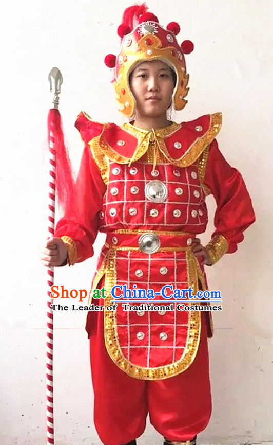 Chinese Beijing Opera Costumes Peking Opera Hua Mulan Costume Complete Set for Women