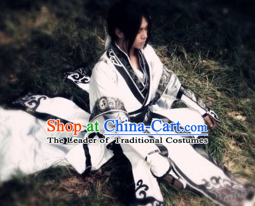 Chinese Costume Taoist Cosplay Costumes China Traditional Armors Complete Set for Men Women Kids Adults