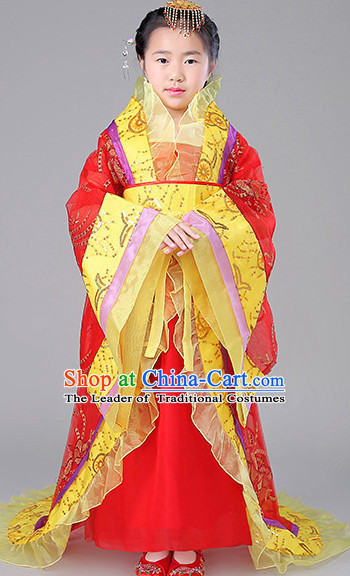 Ancient Chinese Empress Costume Complete Set