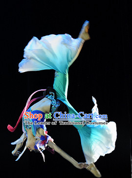 Chinese Classical Dance Costume Folk Dancing Costumes Traditional Chinese Dance Costumes Asian Dance Costumes