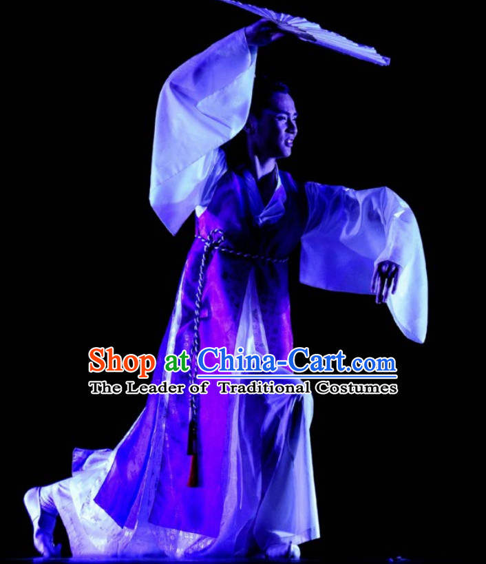 Korean Ethnic Traditional Dance Costume Folk Dancing Costumes Traditional Chinese Dance Costumes Asian Dance Costumes Complete Set for Men