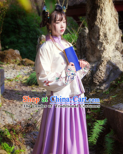 Chinese Traditional Oriental Dress Hanfu Clothing Asian Dresses Fashion Cheongsam Dress China Clothing for Women