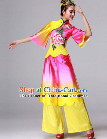 Chinese Dance Costumes Traditional Chinese Clothing Dress Dancewear Dance Clothes Outfits Dresses