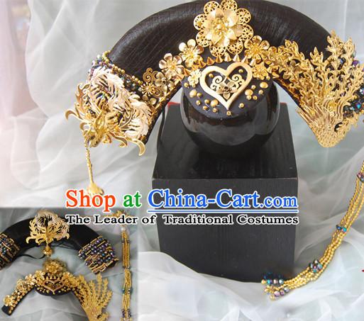 Groovy Qing Dynasty Quene Hairstyle Manchu Hairstyle Chinese Oriental Hairstyles Short Hairstyles Gunalazisus