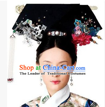 Astounding Qing Dynasty Quene Hairstyle Manchu Hairstyle Chinese Oriental Hairstyles Short Hairstyles Gunalazisus