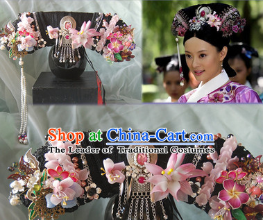 Prime Qing Dynasty Quene Hairstyle Manchu Hairstyle Chinese Oriental Hairstyles Short Hairstyles Gunalazisus