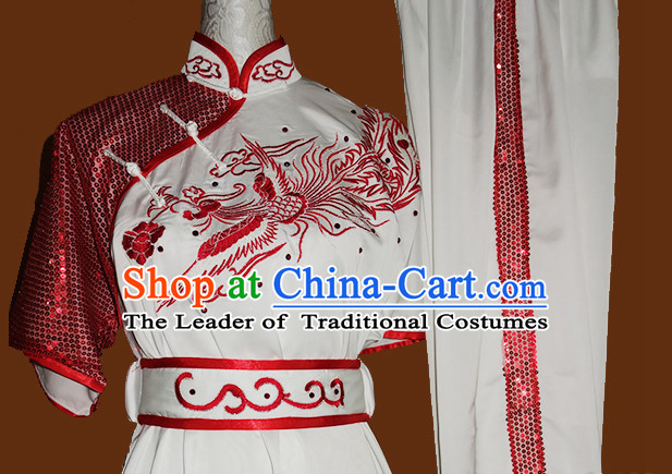 Top Asian Championship Kung Fu Martial Arts Uniform Suit for Women Girls