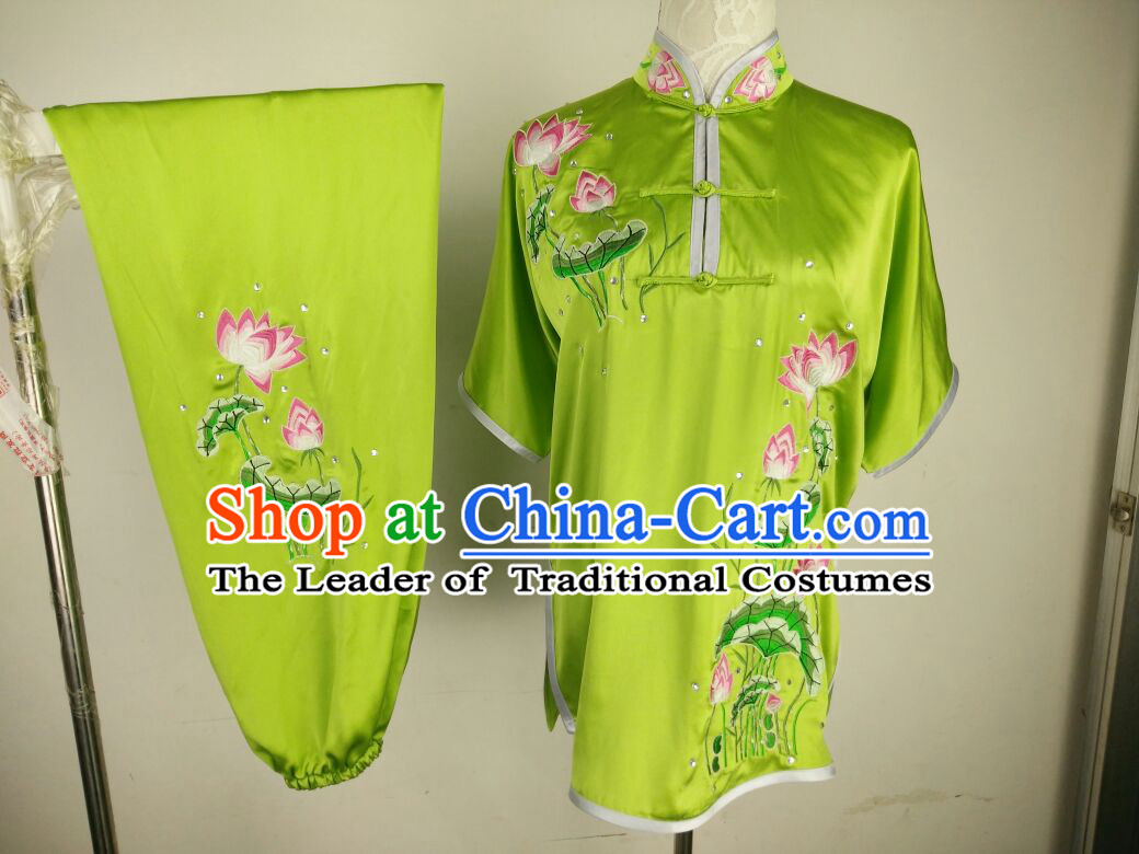 Chinese Professional Stage Performance Martial Arts Kung Fu Dance Costumes