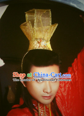 Top Chinese Traditional Cosplay Suphero Supheroine Classical Headwear Hat