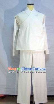 Traditional Chinese Opera Cotton Blouse and Pants
