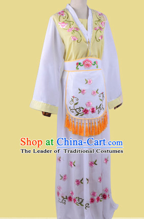 Chinese Opera Costumes Huangmei Opera Stage Performance Costume Chinese Traditional Butterfly Love Costume Drama Costumes and Hat Complete Set