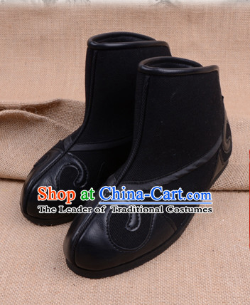 Handmade Chinese Opera Shoes Stage Performance Shoes Classical Shoes