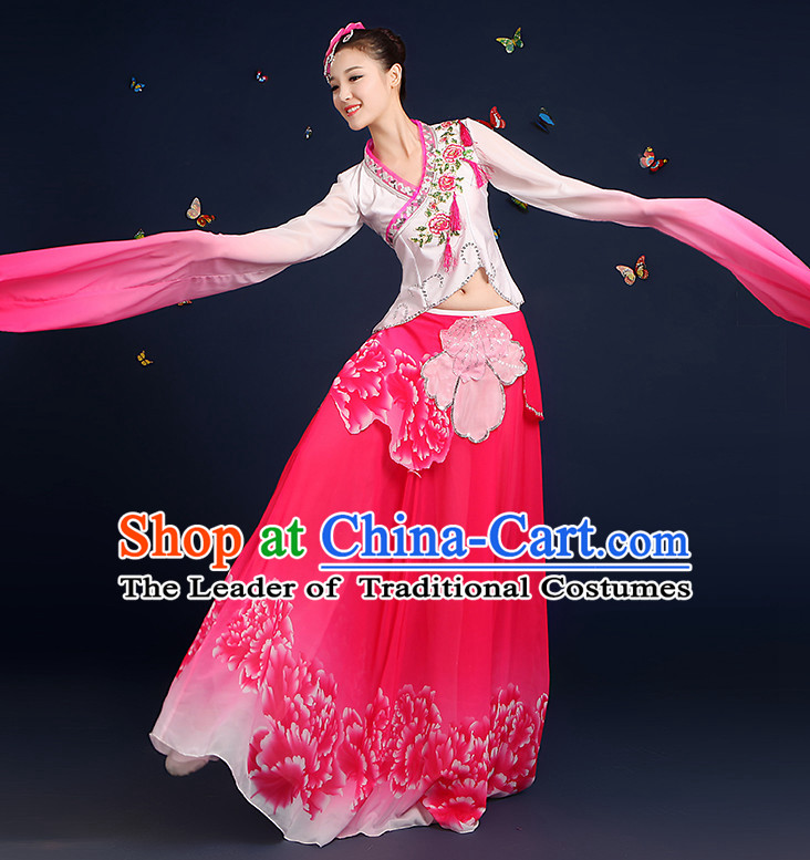 Chinese Ethnic Clothing Minority Clothing Cultural Costumes Complete Set for Women