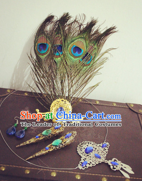 Handmade Chinese Fairy Hair Accessories Hair Ornaments Hair Pieces for Women