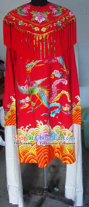 Traditional Chinese Opera Cantonese Opera Guangdong Opera Embroidered Phoenix Lady Costumes