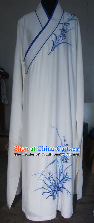 Traditional Chinese Opera Cantonese Opera Guangdong Opera Embroidered Men Costumes