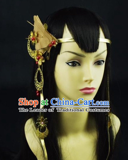 Chinese Traditional Hanfu Hair Jewelry Head Pieces