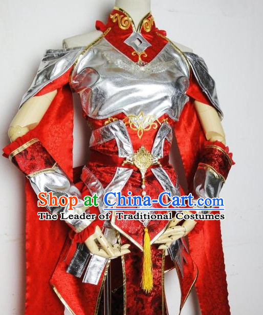 Chinese Traditional Hanfu Cosplay Costume Chinese Cosplay Hanfu Halloween Costume Party Costume Fancy Emperor Dress