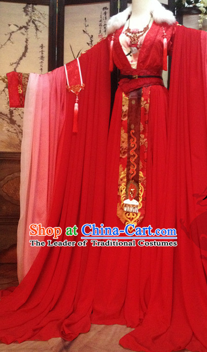 Chinese Traditional Bridal Clothes for Women China Women Dress Customized Ladies Dresses Cheongsams Qipao Hanfu Complete Set