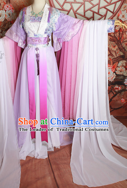 Chinese Traditional Fairy Clothes for Women China Women Dress Customized Ladies Dresses Cheongsams Qipao Hanfu Complete Set